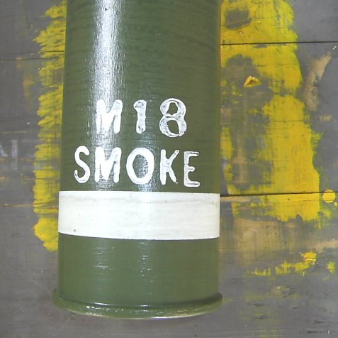 Vietnam period M18 American Forces Smoke Grenade - Relics Replica Weapons