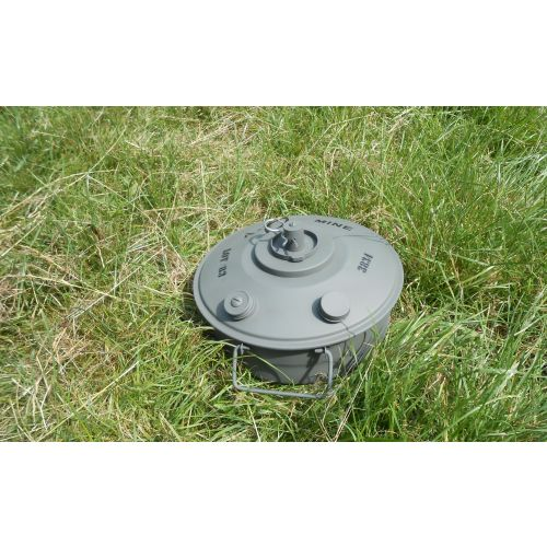 British Improvised Anti-Tank Landmine WW2 type PARA-F1.n - Relics Replica Weapons