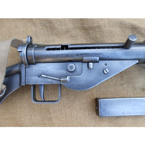 Sten MK2 Metal Replica Sub Machine Gun, British WW2 - Relics Replica Weapons