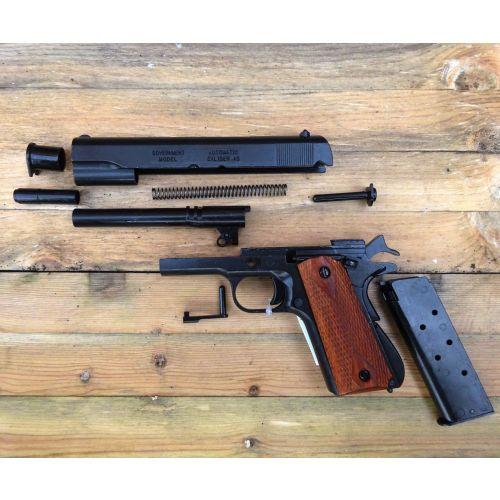 Colt 45 M1911 Automatic metal strip down pattern Denix Handgun 8312