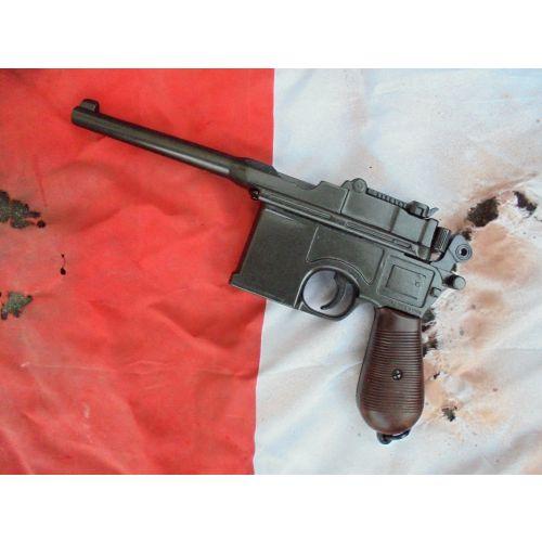Mauser C96 Broomhandled Machine Pistol by Denix - Relics Replica Weapons