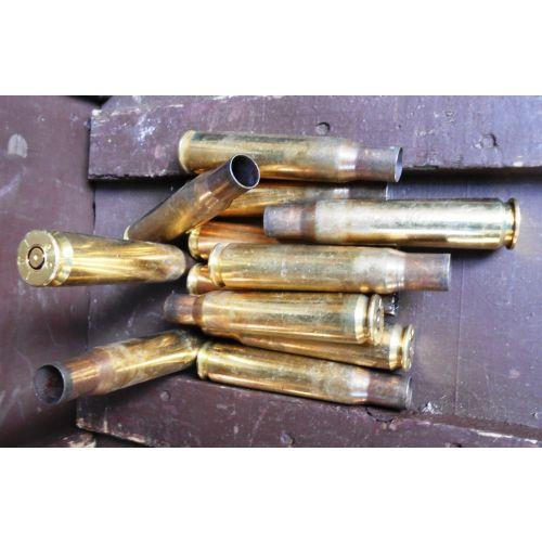50 Cal Brass Cases ex-live fired - Relics Replica Weapons