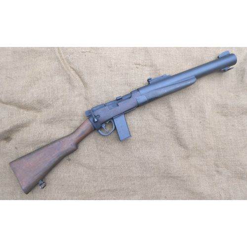 De Lisle Carbine rifle wood and metal replica - Relics Replica Weapons
