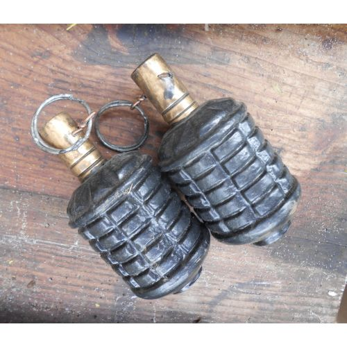 Type 97 Japanese WW2 Fragmentation Grenade  - Relics Replica Weapons