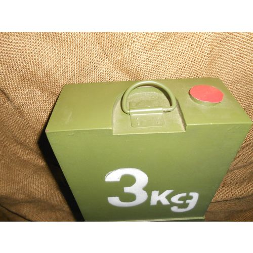 German Wermacht Demolition Anti-Tank block 3kg.- Relics Replica