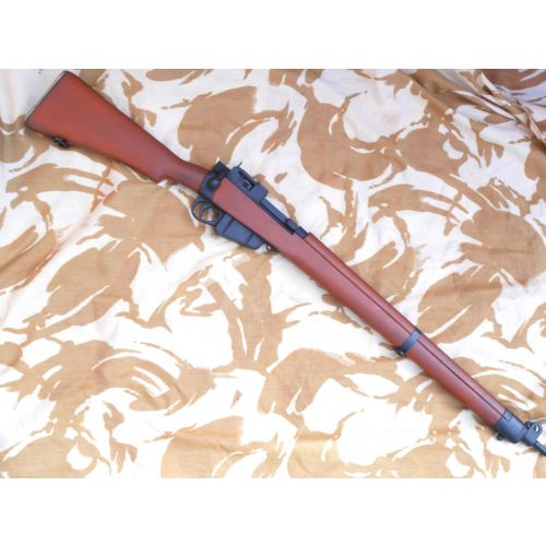 Enfield Rifle No.4 British WW2 Military style all wood propgun