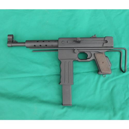 French MAT 49 wood replica Sub Machine Gun - Relics Replica Weapons