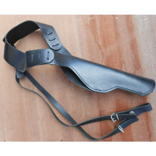 Shoulder Holster Revolver pattern Black leather