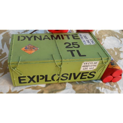 Dynamite Crate Film Prop - Relics Replica Weapons