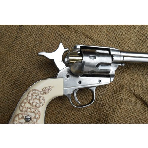 Colt Gunslinger Frontier Single action Gun metal finish - Relics Replica Weapons