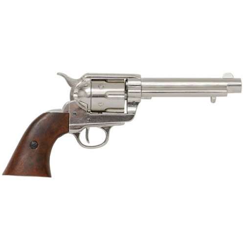 Colt Frontier Sixgun Nickel Plated - Relics Replica Weapons