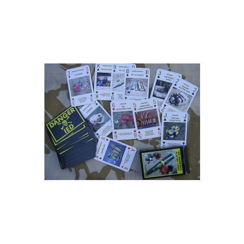 Improvised explosive devices I E D playing cards - Relics Replica Weapons