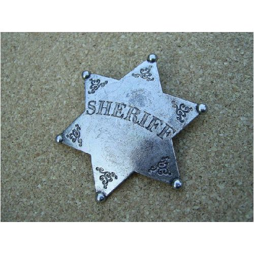 Sheriff Star 6 point - Relics Replica Weapons