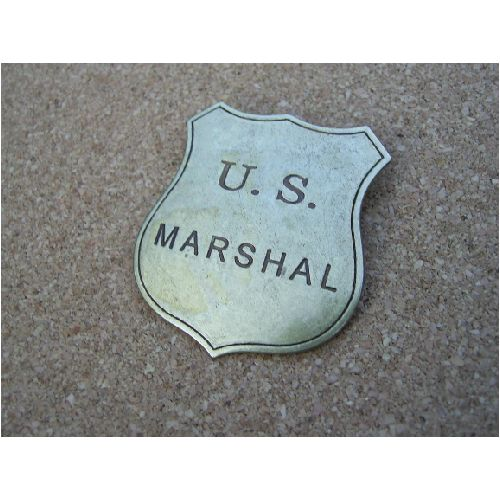U.S Marshals Badge  - Relics Replica Weapons
