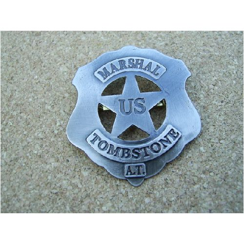U.S Tombstone Marshal Shield - Relics Replica Weapons