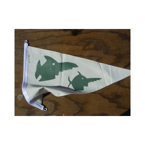 GERMAN U-BOAT U-217 WW2 SUBMARINE FLAG PENNANT - Relics Replica Weapons