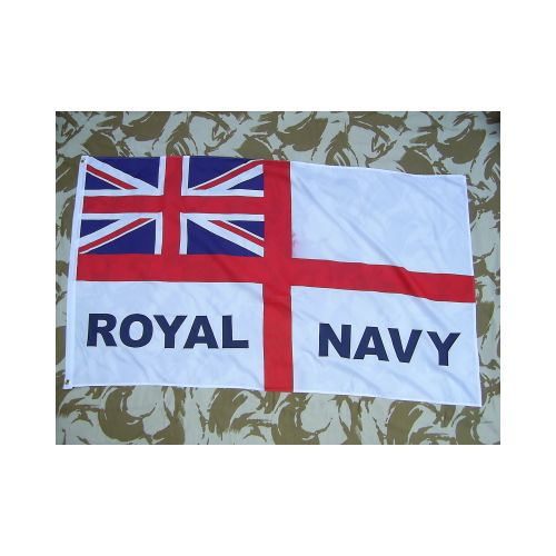 Royal Navy White Ensign flag - Relics Replica Weapons