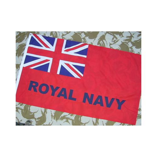 Red Duster Royal Navy Ensign Flag - Relics Replica Weapons