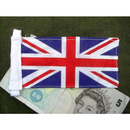 Small Union Jack Antenna Pennant - Relics Replica Weapons