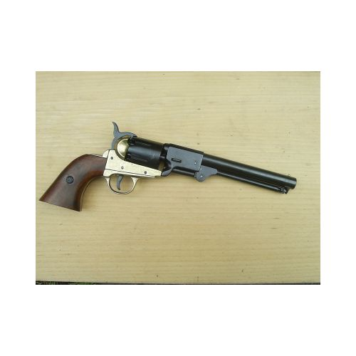 Colt Navy  cap n´ ball Revolver Black n´ Brass finish.