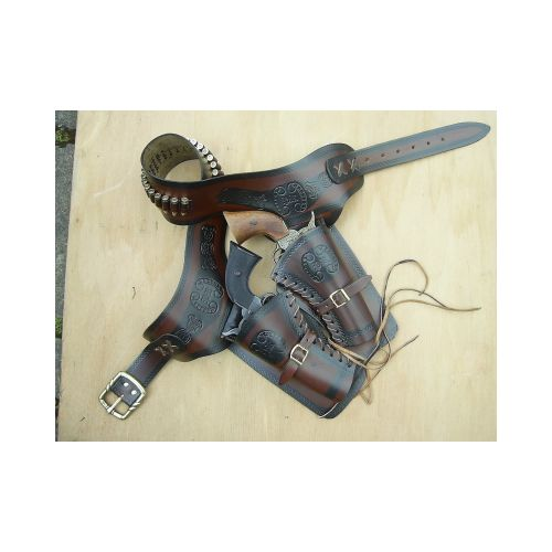 Cowboy Twin Sixgun Rig - Relics Replica Weapons