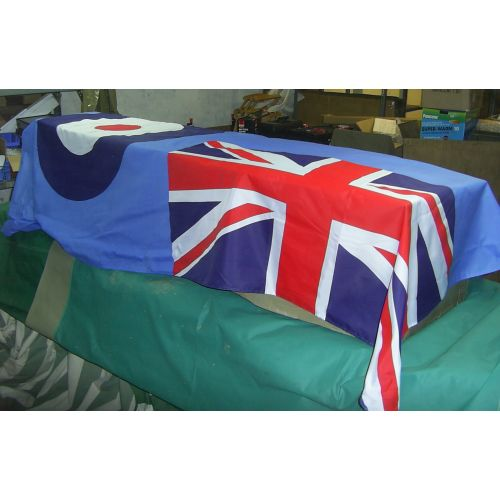 Raf Ensign Coffin Drape Large Flag Relics Replica Weapons