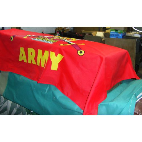 British Army Flag Coffin Drape 96 x 60 inches Relics