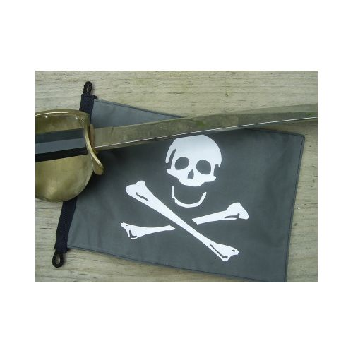 Pirate Boarding Pennant Flag - Relics Replica Weapons