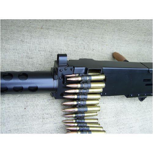 .50 calibre AMMUNITION BELT x 20  INERT ROUNDS - Relics Weapons