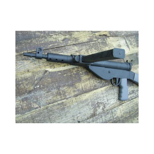 STEN MK5 British WW2 Wooden Sub Machine Gun - Relics Replica Weapons