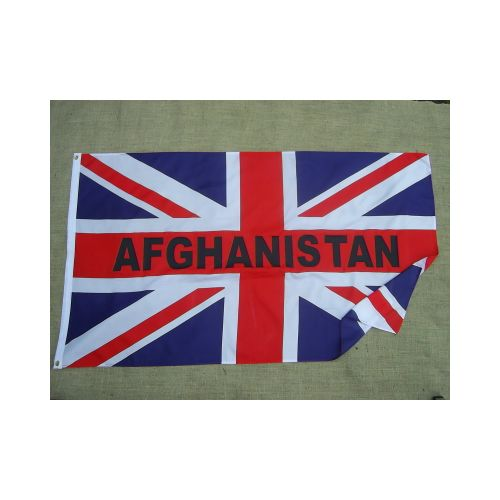 Afghanistan Union Jack flag - Relics Replica Weapons