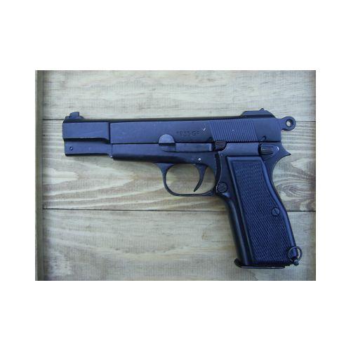 Denix Browning Hi Power GP35 Auto Replica Gun - Relics Replica Weapons