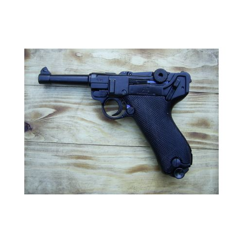 Luger P-O8 German metal replica pistol - Relics Replica Weapons