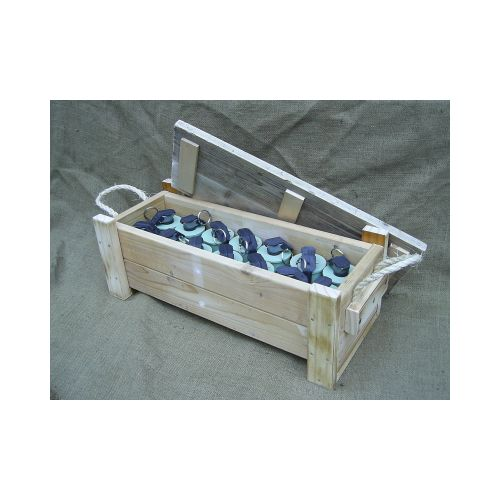 Standard Plain Wood General Purpose Pattern Crate - Relics Replica Weapons