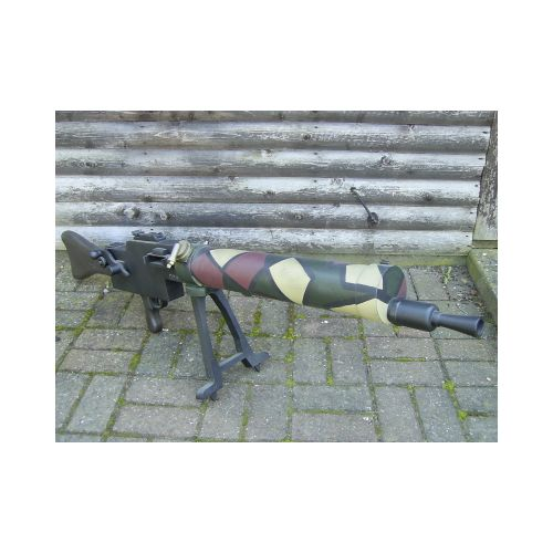 MAXIM MG 08 15 Machine Gun Block Camouflage - Relics Replica Weapons