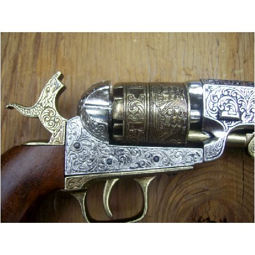 Navy Colt Cap and Ball Revolver - Relics Replica Weapons