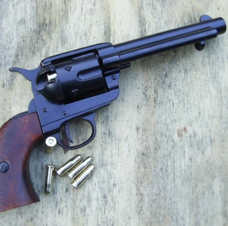 Colt Frontier Gun Black Sixgun by Denix  - Relics Replica Weapons
