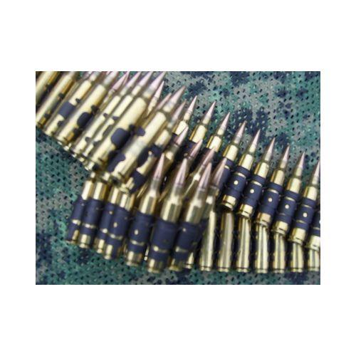 AMMO BELT 5.56 .223 CALIBRE M249 MINIMI  80 x LINKED  INERT BULLETS - Relics Weapons
