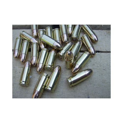 9mm GENUINE INERT BULLETS x 12 - Relics Replica Weapons