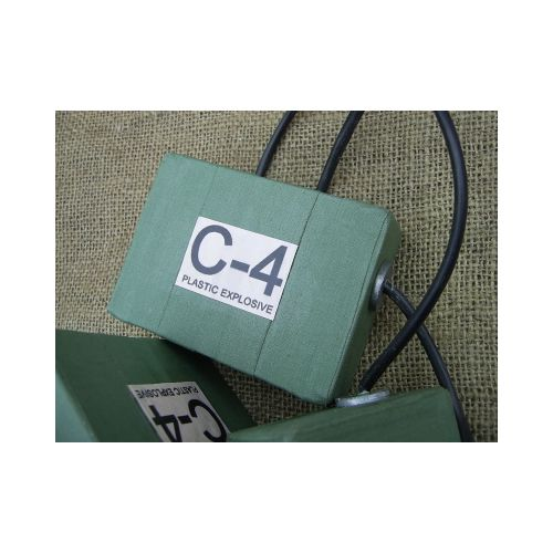 C4 Plastic Explosive Block - Relics Replica Weapons