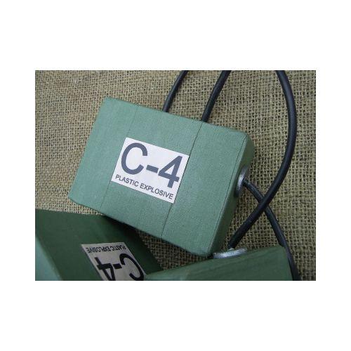 C4 PLASTIC EXPLOSIVE BLOCK - Relics Replica Weapons