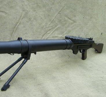 Lewis Mk1 Wood Replica Gun, Infantry Pattern - Relics Replica Weapons