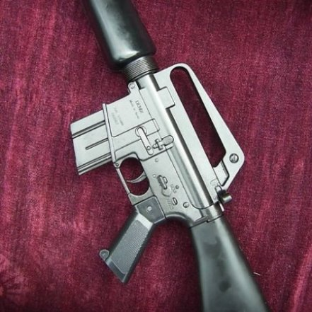 Colt M16 Assault Rifle Metal Replica - Relics Replica Weapons