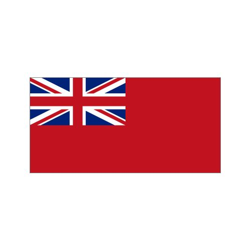 Red Duster Ensign flag - Relics Replica Weapons