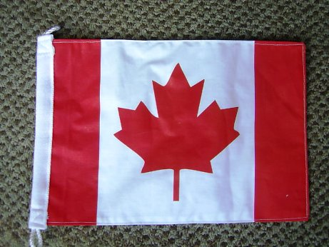 Canadian Maple Leaf Pennant - Relics Replica Weapons