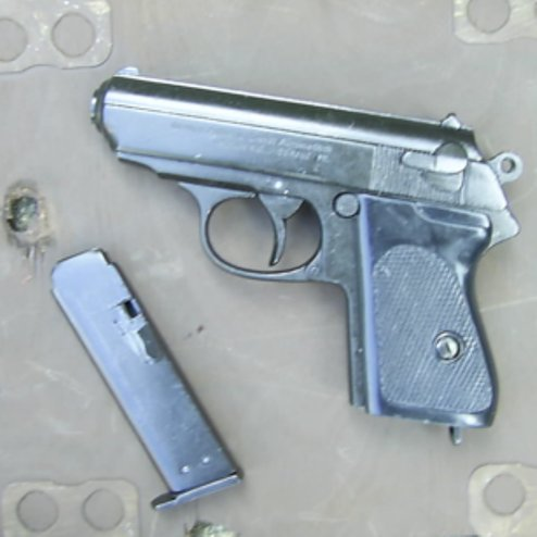 Walther PPK metal replica James Bond pistol - Relics Replica Weapons