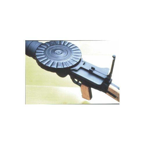 Lewis Wood Replica Drum Magazine - Relics Replica Weapons