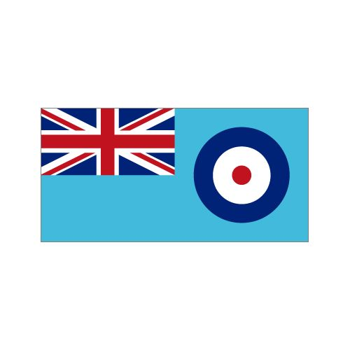 RAF Royal Air Force Ensign Flag - Relics Replica Weapons