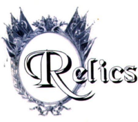 RELICS CATALOGUE /CATALOG - Relics Weapons