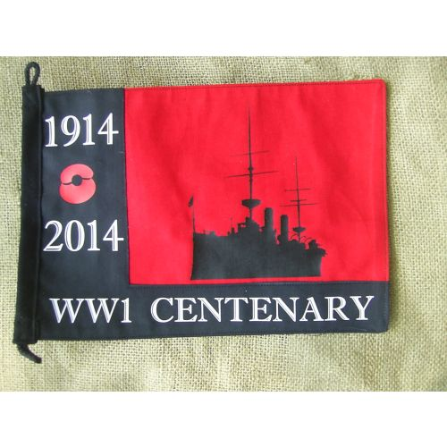 WORLD WAR ONE WW1 ROYAL NAVY REMEMBRANCE POPPY PENNANT - Relics Replica Weapons